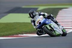 Yonny hernandez, moto gp 2012 Stock Images