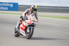 Yonny Hernandez motoGp Stock Image