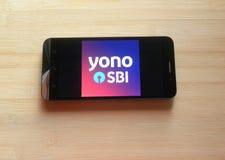 YONO SBI app royalty-vrije stock afbeeldingen