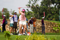 Yoopan tees off at LPGA Malaysia Royalty Free Stock Photography