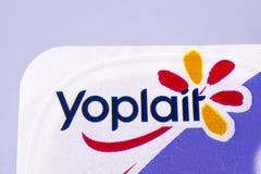 Yoplait gatunku logo Obrazy Royalty Free