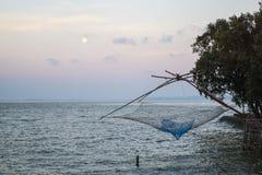 Yor, un equipo de pesca neto Imágenes de archivo libres de regalías