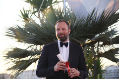 Yorgos Lanthimos winner of the award for Best Screenplay. For the movie `You Were Never Really Here` attends the Palme D`Or Winner Photocall during the 70th Stock Images