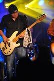 YORK 27 FÉVRIER NEUF : Le père de groupe de musique de Sam exécute sur l'étape pendant le festival russe de roche chez Webster Hal Image libre de droits
