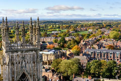 York Aerial View England Stock Image