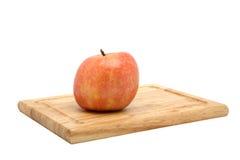 York Apple auf Ausschnitt-Vorstand Lizenzfreie Stockfotos