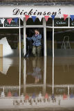 York überschwemmt - Sept.2012 - Großbritannien Lizenzfreie Stockbilder