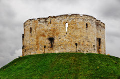 York Castle royalty free stock photo