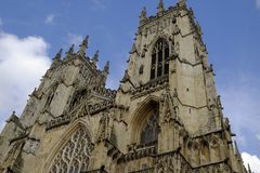 York Cathedral, also called York Minster. Royalty Free Stock Image