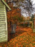 York Cemetery Royalty Free Stock Photos