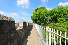York city walls, UK Royalty Free Stock Photo