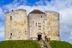York Clifford's Tower Royalty Free Stock Image