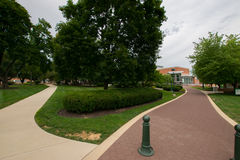 York-College von Pennsylvania-Campus lizenzfreie stockbilder