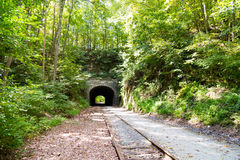 York County Rail Trail Howard Tunnel Stock Photography