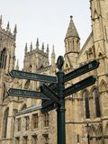 York Directions Stock Photography