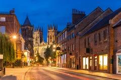 York domkyrka arkivfoto