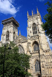 York domkyrka, England Arkivfoto