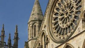 York domkyrka - stad av York - England Arkivfoto