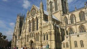 York domkyrka - stad av York - England Arkivbilder