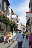 York, England Street Scene Stock Photo