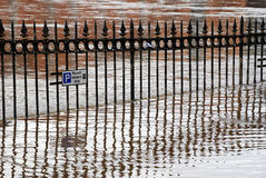 York floods Royalty Free Stock Photos