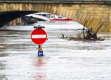 York floods Stock Photo