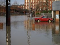 York floods 2015 Royalty Free Stock Images
