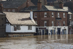 York Floods - Sept.2012 - UK Royalty Free Stock Photos