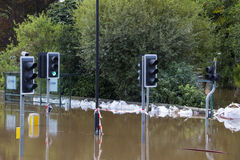 York Floods - Sept.2012 - UK Royalty Free Stock Photo