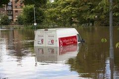 York Floods - Sept.2012 - UK stock photo