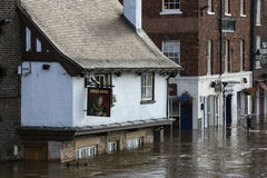 York Floods - Sept.2012 - UK Stock Photo