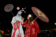 парад york halloween города новый Стоковые Изображения