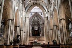 York, het Verenigd Koninkrijk - 02/08/2018: Binnen de Munster van York Stock Afbeeldingen