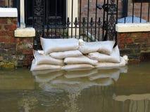 York inundó la calle Foto de archivo