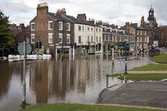 York inunda - Sept.2012 - Reino Unido Fotos de archivo