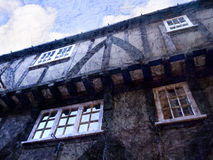 Gebäude des 15. Jahrhundertsin York Lizenzfreie Stockfotos