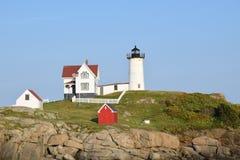 York-Leuchtturm in York, Maine, USA Stockbild