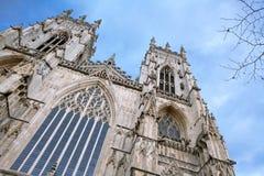 York-Münster England Lizenzfreies Stockfoto