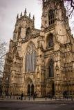 York-Münster-Kathedrale, England Stockbilder