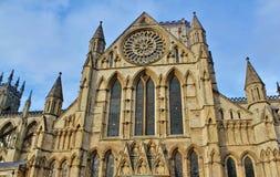 York-Münster, York, North Yorkshire Stockbild