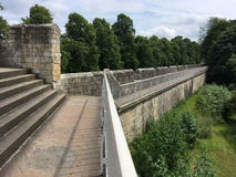 York Medieval City Walls Royalty Free Stock Photography