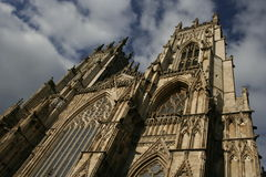 York Minster. Cathedral in York, England Stock Photos