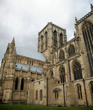 York Minster. Yorkshire on a grey day Royalty Free Stock Photography