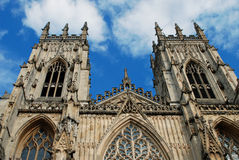 York Minster stock photo