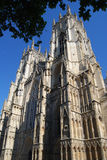 York Minster. Facade from street level Royalty Free Stock Photography