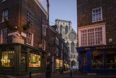 York Minster all'alba Fotografia Stock