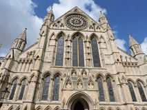 York minster from below Royalty Free Stock Photography