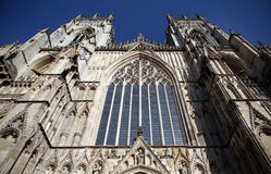 York minster cathedral church Royalty Free Stock Image