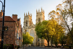 York Minster Cathedral England Stock Photo