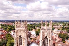 York Minster,is the cathedral of York, England, stock image